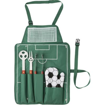 Image of 5pc Football BBQ set