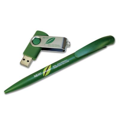 Image of Eco USB & Pen Set
