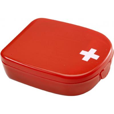 Image of First aid kit in a plastic case