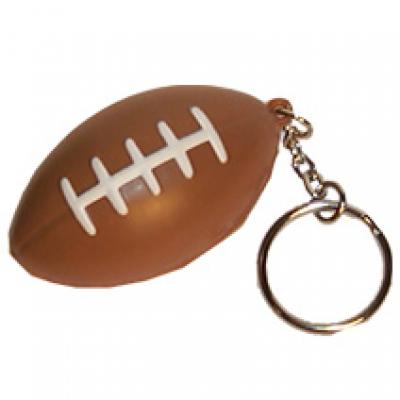 Image of Stress Rugby Ball Keyring