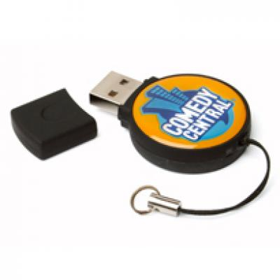 Image of Epoxy Circle USB FlashDrive
