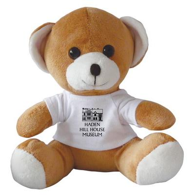"Image of 10"" Jay Jay Bear with White T Shirt"