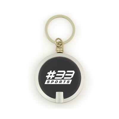 Image of Sphere Plastic Round Led Keyring Torch