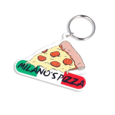 Image of 45mm Custom Shape Keyring