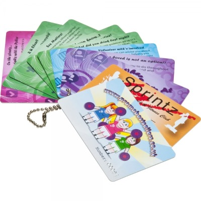 Image of Printed Plastic Cards (86x54mm: 0.76mm Thick)